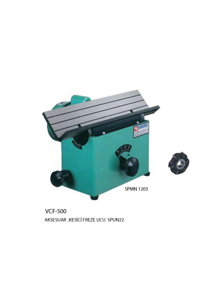 Pah Kırma Makinası VCF-500
