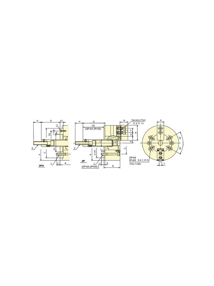 Hidrolik Ayna 2 Ayaklı T2H-10 A6
